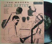 【米Verve mono】Dizzy Gillespie,  Sonny Stitt, John Lewis, etc/The Modern Jazz Sextet