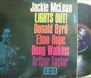 【米Prestige】Jackie McLean/Lights Out (Donald Byrd, Doug Watkins, etc)