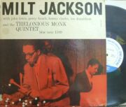 【米Blue Note Lexington mono】Milt Jackson/with Thelonious Monk (Lou Donaldson, Sahib Shihab)