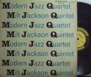 【米Prestige NYC mono】Modern Jazz Quartet & Milt Jackson Quintet/MJQ