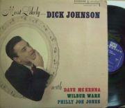 【米Riverside mono】Dick Johnson/Most Likely (Dave McKenna, Wilbur Ware, Philly Joe Jones)