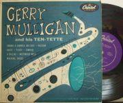 ����Capitol 10' mono��Gerry Mulligan/And His Ten-tette (Chet Baker, Bud Shank, etc)