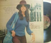 【英Elektra】Carly Simon/No Secrets (Lowell George, Nicky Hopkins, etc) ワーナーのロゴなし