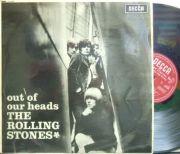 �ڱ�Decca mono��Rolling Stones/Out of Our Heads (open Decca)