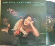 【米RCA Victor mono】Pete Jolly/When Lights Are Low