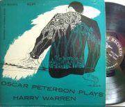 【米Clef mono】Oscar Peterson/Plays Harry Warren