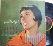 【米Capitol mono】Keely Smith/Politely!