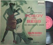 【米Decca mono】Ralph Burns/Porgy And Bess in Modern Jazz (Al Cohn, Eddie Costa, Barry Galbraith, etc) promo