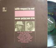【米Limelight】Oscar Peterson Trio/With Respect To Nat
