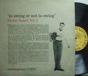 【米Contemporary mono】Barney Kessel/Vol.3, To Swing or Not To Swing