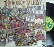【英Harvest】Deep Purple/The Book of Taliesyn (グラモフォン・リム)