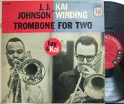 【米Columbia mono】JJ.Johnson & Kai Winding/Trombone For Two (Dick Katz, Paul Chambers, etc)