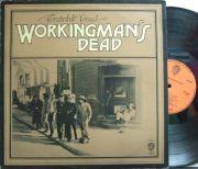 【英Warner Bros】Grateful Dead/Workingman's Dead (オレンジ・レーベル) レアなファースト・ジャケット