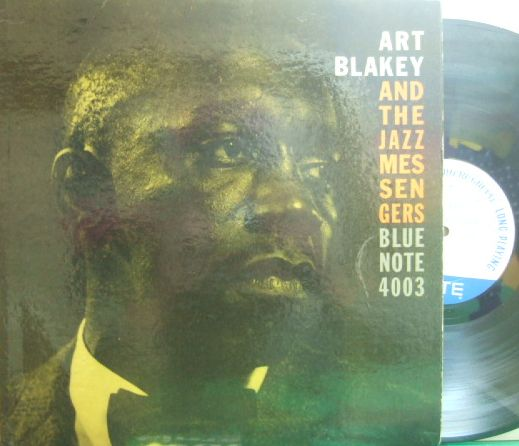 【米Blue Note 47w63rdNY mono】Art Blakey/The Jazz Messengers (moanin' 4003)