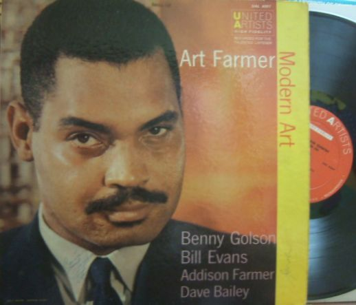 【米United Artists mono】Art Farmer/Modern Art (Benny Golson, Bill Evans)