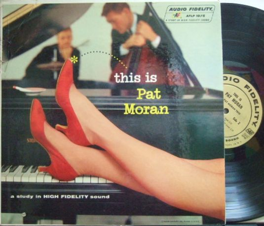 【米Audio Fidelity mono】Pat Moran Trio/This Is Pat Moran (Scot La Faro) 激レア