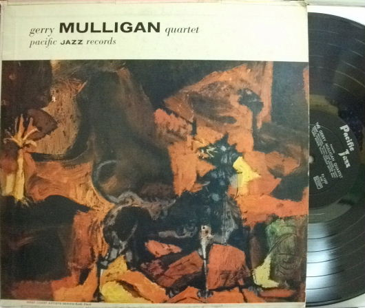 【米Pacific Jazz mono】Gerry Mulligan/Gerry Mulligan Quartet Featuring Chet Baker