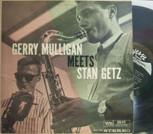 【米Verve】Gerry Mulligan/Meets Stan Getz