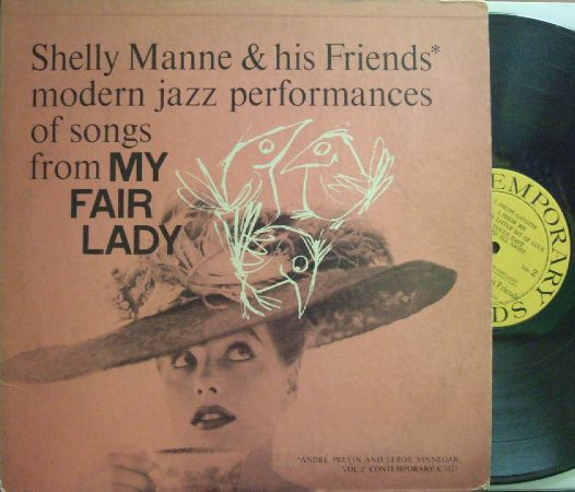 【米Contemporary mono】Shelly Manne/My Fair Lady (Andre Previn)
