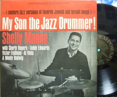 【米Contemporary】Shelly Manne/My Son The Jazz Drummer