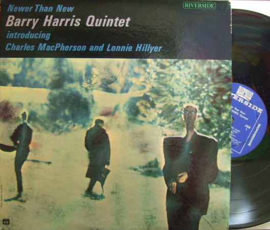 【米Riverside mono】Barry Harris/Newer Than New