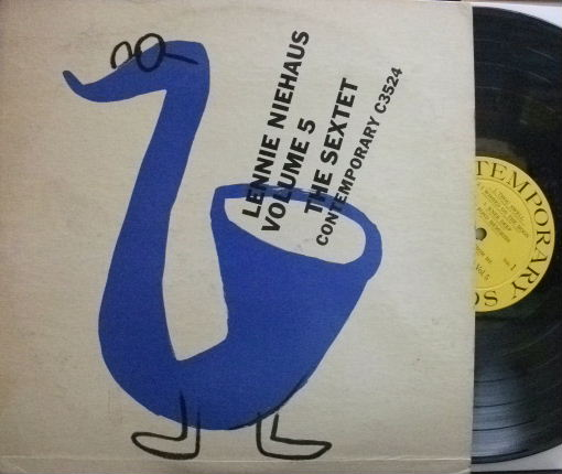 【米Contemporary mono】Lennie Niehaus/Vol.5, The Sextet