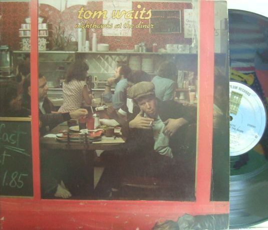 【英Asylum】Tom Waits/Nighthawks at The Diner (2LP)