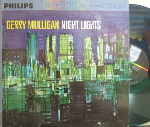 【米Philips】Gerry Mulligan/Night Lights (Art Farmer, Jim Hall, Dave Bailey, Bill Crow, etc)