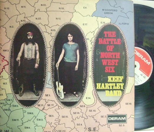 【英Deram】Keef Hartley Band/The Battle of North West Six