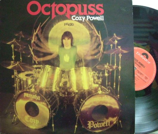 【英Polydor】Cozy Powell/Octopuss (Gary Moore, Don Airey, Jon Lord, etc)