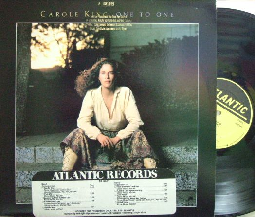 【米Atlantic】Carole King/One To One (promo)