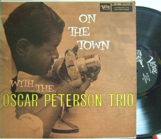 【米Verve mono】Oscar Peterson Trio/On The Town (Herb Ellis, Ray Brown)