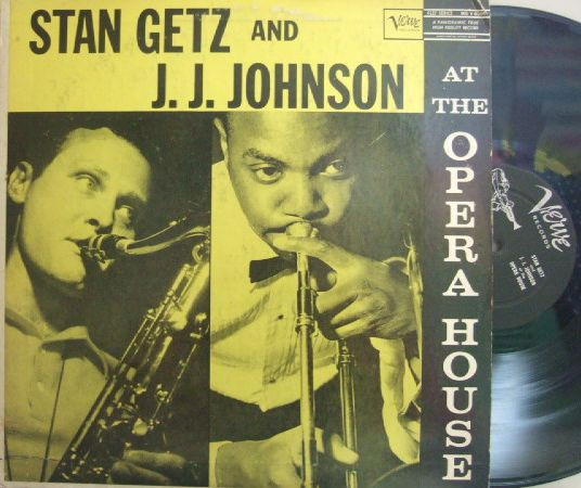 【米Verve mono】Stan Getz & J.J.Johnson/At The Opera House (Oscar Peterson, etc)