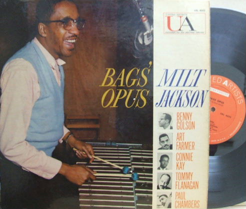 【米United Artists mono】Milt Jackson/Bag's Opus (Art Farmer, Benny Golson, Tommy Flanagan)