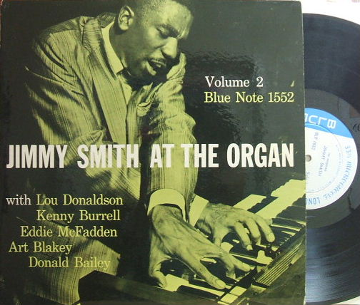 【米Blue Note 47w63rd mono】Jimmy Smith/At The Organ vol.2 (Lou Donaldson, Kenny Burrell)