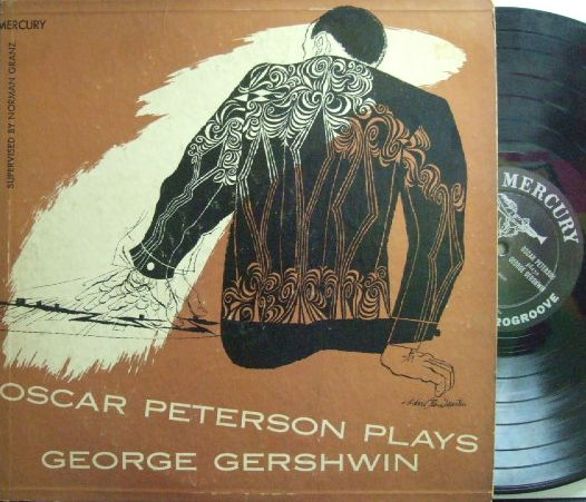 【米Mercury mono】Oscar Peterson/Plays George Gershwin