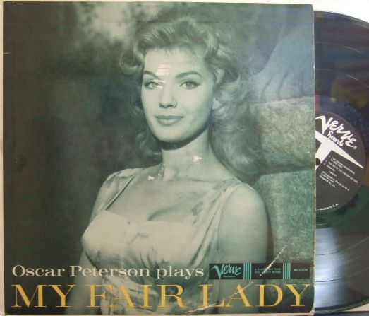 【米Verve mono】Oscar Peterson/plays My Fair Lady