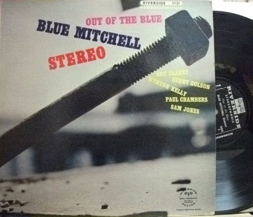 【米Riverside】Blue Mitchell/Out of The Blue (Benny Golson, Wynton Kelly, etc)