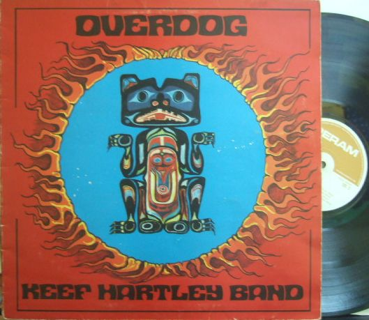 【英Deram】Keef Hartley Band/Overdog