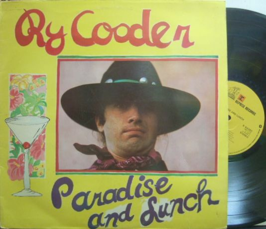【英Reprise】Ry Cooder/Paradise and Lunch
