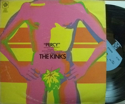 【英Pye】The Kinks/Percy