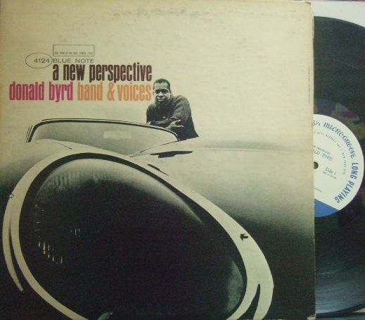 【米Blue Note NY mono】Donald Byrd/A New Perspective (Hank Mobley, Kenny Burrell, Herbie Hancock, etc)