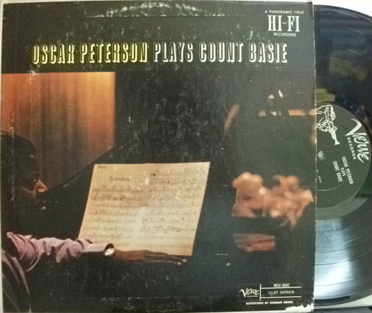 【米Verve mono】Oscar Peterson/Plays Count Basie