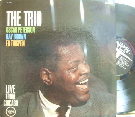 【米Verve mono】Oscar Peterson/The Trio
