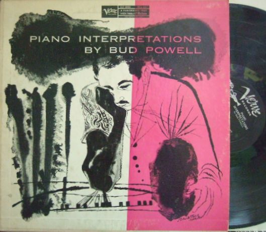 【米Verve mono】Bud Powell/Piano Interpretations