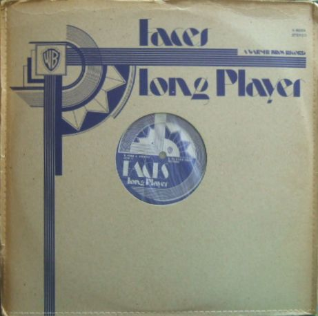【英Warner Bros】Faces/Long Player (変形ジャケット)