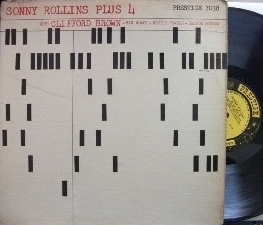 【米Prestige NYC mono】Sonny Rollins/Plus 4 (Clifford Brown, Max Roach, etc)