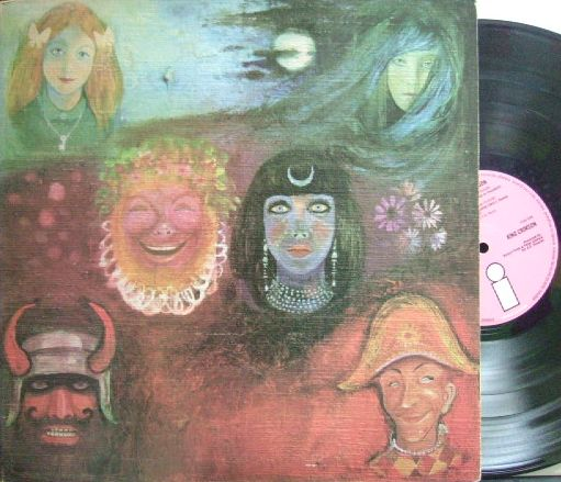 "【英pink""i""island】King Crimson/In The Wake of Poseidon (マト1)"
