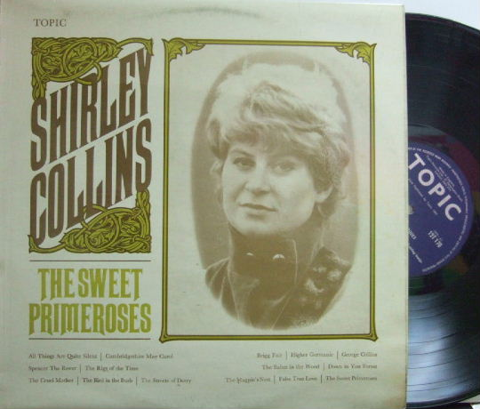 【英Topic mono】Shirley Collins/The Sweet Primeroses (with Dolly Collins)
