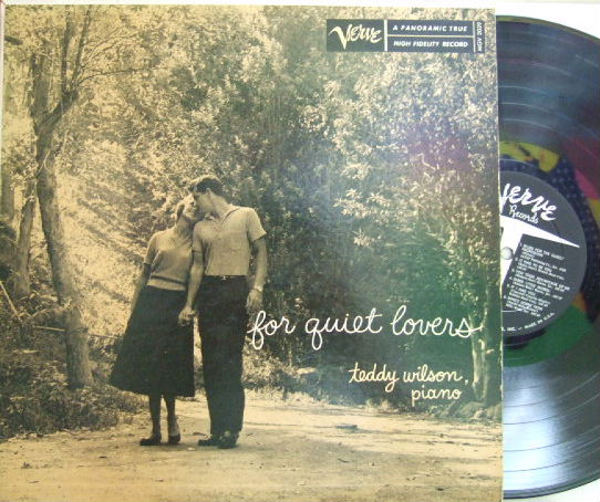 【米Verve mono】Teddy Wilson/For Quiet Lovers